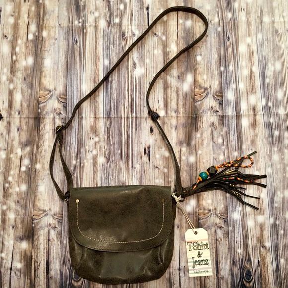 T-shirt & Jeans Handbags - NWT T-shirt & Jeans brown crossbody purse